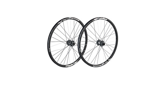 Set de ruedas Spank Spike Race28 EVO 20mm + 12/135mm Negro